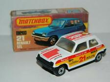MATCHBOX LESNEY SUPERFAST VINTAGE RENAULT 5 TL No.21 MINT IN K BOX 1982