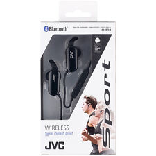 JVC HA-EBT5-B Wireless Sweat Proof Sports In-Ear Bluetooth Headphones - Black