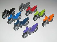 Lego ® Accessoire Minifig Moto Cross Motorcycle Choose Color ref 50859 + 50860
