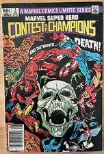 1982 - #3 Marvel Super Hero Contest of Champions Limited Series