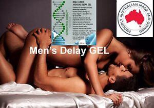 NEW LIBIDO SEX AROUSAL GEL LONGER ERECTION DELAY EJACULATION DURING SEX