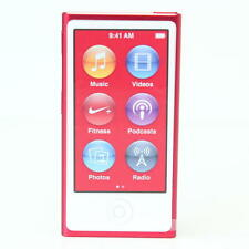 Official Apple iPod Nano 7th Gen Red *VGWC*+Warranty!!