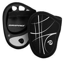Gripad RX Weight Lifting Gloves – Black & White