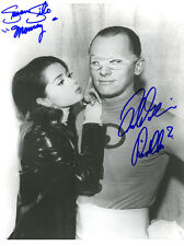 Frank Gorshin Riddler Susan Silo Mousey Batman Autographed 8x10 Photo #2 COA