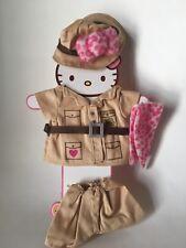 New Rare Hello Kitty Dress Me Safari Costume Sanrio Clothes Dress Up Doll