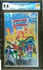 JUSTICE LEAGUE OF AMERICA ANNUAL 2  CGC 9.4 1ST VIBE 1ST GYPSY 1ST STEEL