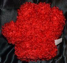 """7"""" Elmo's Tickle Hands """"The Left Glove"""" 2008 Sesame Workshop Plush Mitten Soft"""