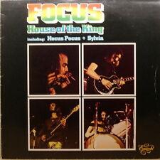 "12"" Focus House Of The King (Hocus Pocus, Sylvia) 70`s EMI Emigold"