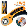 45mm Rotary Cutter Sewing Quilters Fabric Cutting Leather Crafts Tools Home DIY