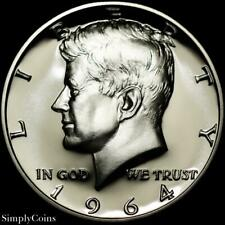 1964 DDO #1 Kennedy Half Dollar ~ GEM Proof Uncirculated ~ DOUBLED DIE OBVERSE