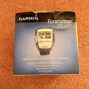 Garmin Forerunner 205. GPS Running Runner Watch With Heart Rate Monitor Boxed