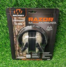 Walkers Razor Slim Electronic Quad Muff, 23 dB, Realtree Xtra - GWP-RSEQM-CMO