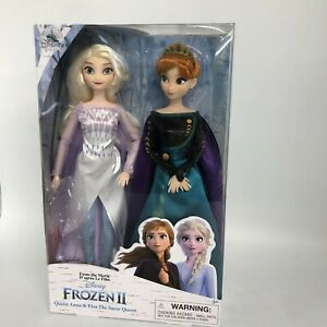 New Disney Frozen II Dolls Queen Anna & Elsa The Snow Queen Boxed Film 3052 CP