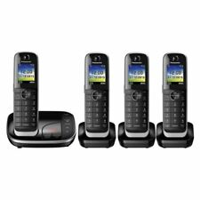 Panasonic KX-TGJ324EB Digital Cordless TelePhone with 4 Handsets