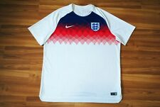 ENGLAND NATIONAL TEAM TRAINING FOOTBALL SHIRT JERSEY 2018-2019 NIKEMENS XXL 2XL