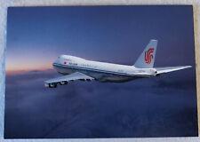 Ansichtskarte Air China Boeing 747-200