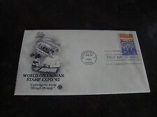 World Columbian Stamp Expo 1992-First Day Cover-Jan. 24, 1992
