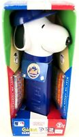 """13"""" NEW New York Mets Snoopy GIANT Pez Candy Roll Dispenser 2007 Collectible MLB"""