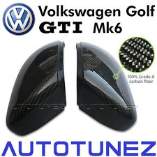 Carbon Fiber Side Mirror Replacement Cover Golf Mk 6 VI Volkswagen Car VW GTI