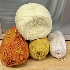 Knitting-Yarn-420g-Yellows-Orange-Cream-Mustard-Crochet-Crafts-7I