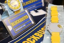 90s BLOCKBUSTER VIDEO STORE PROMOTIONAL WATCH NWT RARE VINTAGE COLLECTIBLE AUTH
