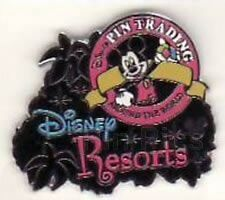 Disney Pin: WDW Cast Lanyard Series - Logo Collection (Disney Resorts/Mickey)