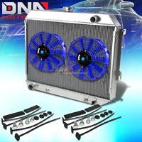3-ROW ALUMINUM RACING RADIATOR 71-88 CHEVY//OLDS//PONTIAC SMALL BLOCK SBC l6//V6