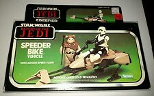 STAR WARS RETURN OF THE JEDI SPEEDER BIKE VEHICLE BRAND NEW IN THE BOX  TAPED