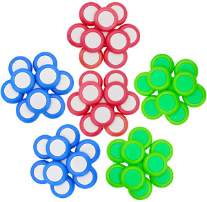 60 PCS Safety Foam Refill Bullets Compatible for Nerf Vortex Disc Blaster