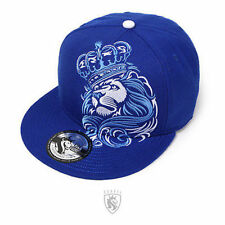 OGABEL Og Abel Lion Crown Royal Tattoo Punk Leo Fierce Snapback Hat Cap Htsb005