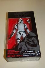 "Hasbro Star Wars The Black Series 6"" Inch First Order Stormtrooper Action Figure"