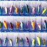 US Stock 30Pcs Fishing Lures Crankbaits Hooks Minnow Baits Tackle Bass Jerkbaits