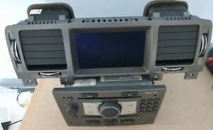 Vauxhall Cd70 Sat Nav In Gunmetal Ready To Be Fitted🇬🇧with Disc & Gps Aerial