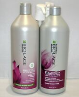 Biolage Full Density Shampoo & Conditioner 33.8 oz Liter Set Duo PACK + Pumps