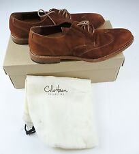 Men's Cole Haan Vincenti Wing Ox Shoes Henna Suede Sz 8 M NIB
