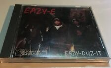 Eazy E - Eazy-Duz-It [PA]  (CD, Nov-1988, Ruthless) Original Pressing Near Mint!