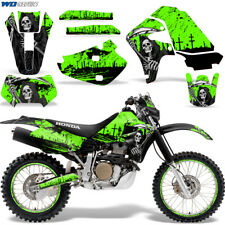 Honda XR650 Graphic Decal Kit Dirt Bike Sticker Wrap XR650R 2000-2010 REAP GREEN