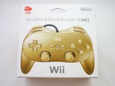 Club Nintendo Wii Golden Classic Controller PRO Limited Gold from Japan