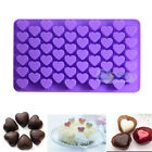 55 Mini Hearts Silicone Cake Chocolate Candy Baking Mould Ice Soap Mold DIY Tool