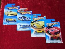 2010/2011 Hot Wheels Racing, Garage, New Models, Thrill Racing Ferrari 4 Pack