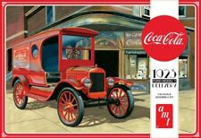 1923 Ford Model T Coca Cola Delivery Truck 1:25 Scale AMT Detailed Plastic Kit