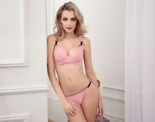 New Women Classic style Perfect Golden Triangle Ultra-thin breathable Bra Sets