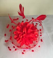 Elegant Headband Fascinator Hat Aliceband Wedding Ladies Day Race Royal Ascot