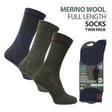 Norfolk® Light Merino Wool Walking Socks Twin Pack - Sheldon