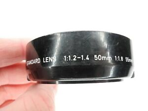 Pentax 52mm Standard Camera Lens Hood For SMC K 50mm f/1.2 f/1.4 / 55mm f/1.8