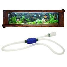 Aquarium Fish Tank Gravel Water Filter Cleaner Syphon Siphon Manual Vacuum Pump