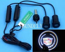 LED Car door Welcome laser projector Logo Ghost Shadow Light For Cadillac vector