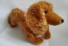 "Vintage large Steiff Waldi Dachshund dog toy, 45 cm 18"", golden mohair, 50s-60s"
