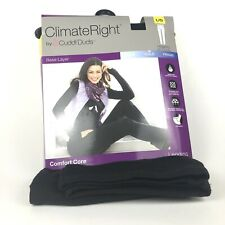 New Climate Right Cuddl Dud Black Comfort Core Leggings Womens Large