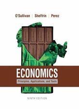 Economics: Principles, Applications, and Tools (9th Edition) by O'Sullivan, Art